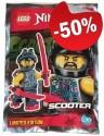 LEGO Scooter met Wapens (Polybag)