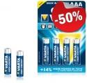 VARTA Alkaline Batterij AAA (4 stuks)