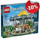 LEGO 10257 Draaimolen, slechts: € 179,99