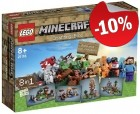 LEGO 21116  Minecraft Microworld - Creative Box