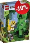 LEGO 21156 Bigfig Creeper en Ozelot, slechts: € 13,49