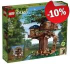 LEGO 21318 Boomhuis, slechts: € 179,99