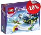 LEGO 41321 Wintersport Terreinwagen, slechts: € 16,19
