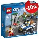LEGO 60136 Politie Starterset, slechts: € 8,99