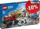 LEGO 60245 Politie Monster Truck Overval, slechts: € 40,49