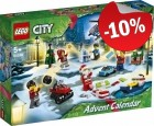 LEGO 60268 Advent Calendar 2020 City, slechts: € 22,49