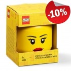 LEGO Storage Head XS Girl, slechts: € 8,09