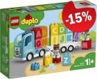 DUPLO 10915 Alfabet Vrachtwagen, slechts: € 25,49