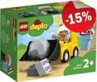 DUPLO 10930 Bulldozer, slechts: € 8,49