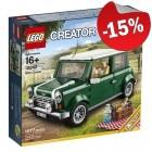 LEGO 10242 MINI Cooper MK VII, slechts: € 76,49