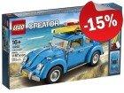 LEGO 10252 Volkswagen Beetle, slechts: € 84,99