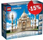 LEGO 10256 Taj Mahal, slechts: € 305,99