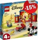 LEGO 10776 Mickey & Friends Brandweerkazerne en Auto, slechts: € 46,74