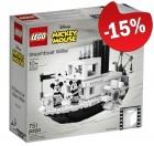 LEGO 21317 Stoomboot Willie, slechts: € 76,49