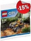 LEGO 30355 Jungle ATV (Polybag), slechts: ¬ 3,39