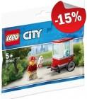 LEGO 30364 Popcorn Wagen (Polybag), slechts: € 4,24