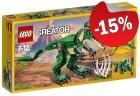 LEGO 31058 Machtige Dinosaurussen, slechts: € 15,29