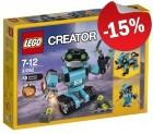 LEGO 31062 Robotverkenner, slechts: € 16,99