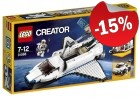 LEGO 31066 Spaceshuttle-Verkenner, slechts: € 29,74