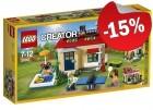 LEGO 31067 Modulaire Vakantie aan het Zwembad, slechts: € 21,24
