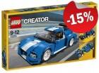 LEGO 31070 Turbo Baanracer, slechts: € 42,49