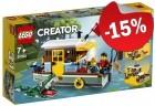 LEGO 31093 Woonboot aan de Rivier, slechts: € 29,74