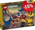 LEGO 31102 Vuurdraak, slechts: € 16,99