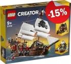 LEGO 31109 Piratenschip, slechts: € 84,99