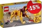 LEGO 31112 Wilde Leeuw, slechts: € 15,29