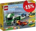 LEGO 31113 Raceauto Transporter, slechts: € 22,94