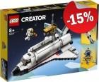 LEGO 31117 Ruimteraket Avontuur, slechts: € 42,49