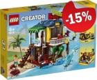 LEGO 31118 Surfer Strandhuis, slechts: € 42,49