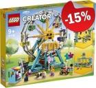 LEGO 31119 Reuzenrad, slechts: € 76,49
