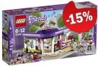 LEGO 41336 Emma's Kunstcafé, slechts: € 25,49