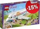 LEGO 41429 Heartlake City Vliegtuig, slechts: € 63,74