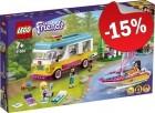 LEGO 41681 Boscamper en Zeilboot, slechts: € 46,74