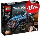 LEGO 42070 6x6 All Terrain Sleepwagen, slechts: € 229,49