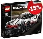 LEGO 42096 Porsche 911 RSR, slechts: € 127,49