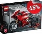 LEGO 42107 Ducati Panigale V4R, slechts: € 50,99