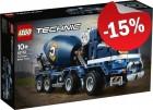 LEGO 42112 Betonmixer, slechts: € 84,99