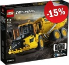 LEGO 42114 Volvo 6x6 Truck met Kieptrailer, slechts: € 212,49