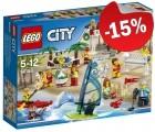 LEGO 60153 Personenset - Plezier aan het Strand, slechts: ¬ 38,24