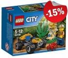 LEGO 60156 Jungle Buggy, slechts: ¬ 5,09