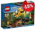 LEGO 60158 Jungle Vrachthelikopter, slechts: ¬ 16,99