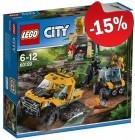 LEGO 60159 Jungle Missie met Halfrupsvoertuig, slechts: ¬ 25,49