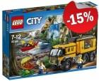 LEGO 60160 Jungle Mobiel Laboratorium, slechts: ¬ 42,49