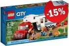 LEGO 60182 Pick-uptruck en Caravan, slechts: € 25,49