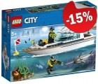 LEGO 60221 Duikjacht, slechts: € 16,99