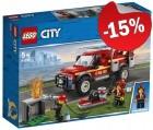 LEGO 60231 Reddingswagen van Brandweercommandant, slechts: € 16,99