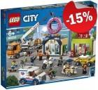 LEGO 60233 Opening Donutwinkel, slechts: € 72,24